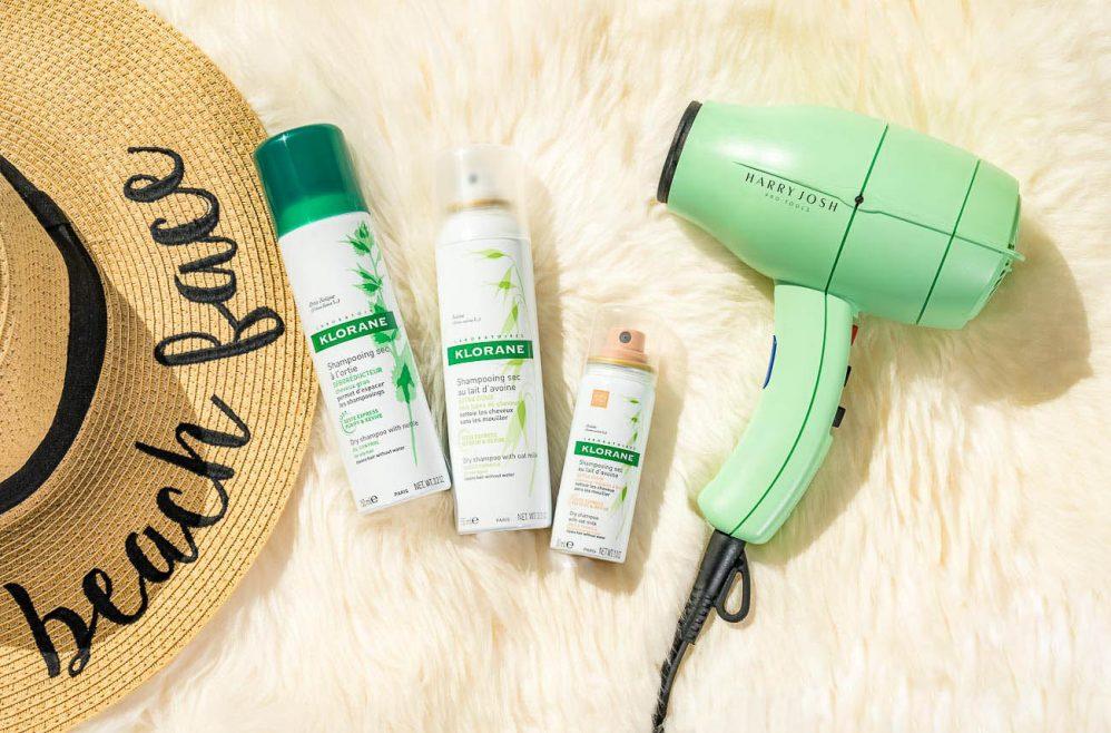 Dầu gội khô Klorane – Bỏ túi bí quyết chăm sóc tóc mùa hè