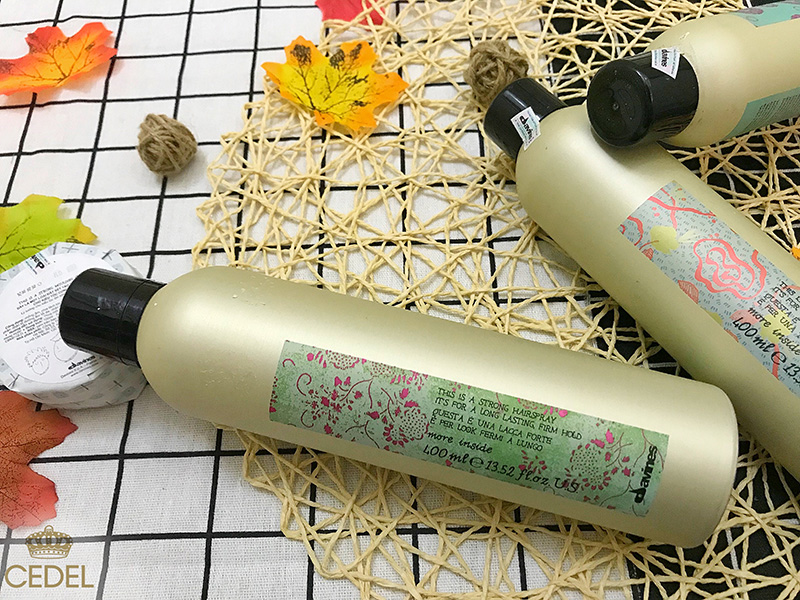 Gôm xịt tóc Davines Strong Hairspray