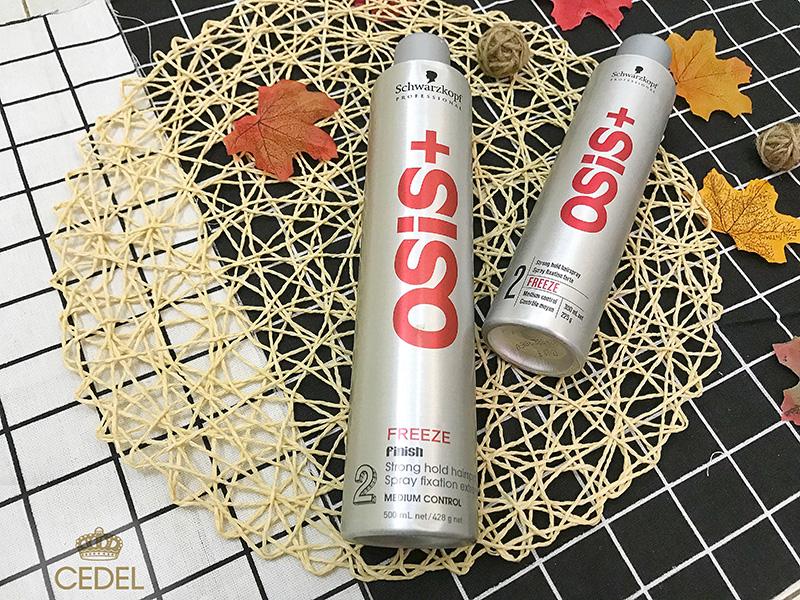 Gôm xịt tóc Osis+ 2 Freeze Finish