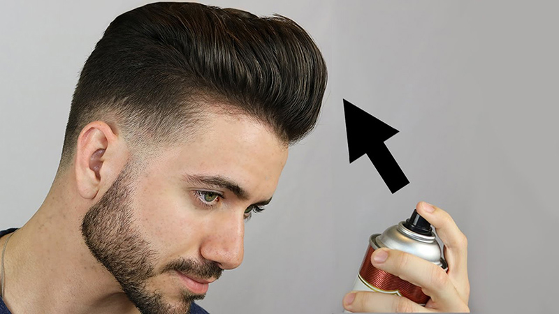 Cách sử dụng gôm xịt tóc